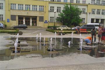 Цьогорічний День Незалежності Ужгород запам ятає відкриттям фонтану 1287630673ec0