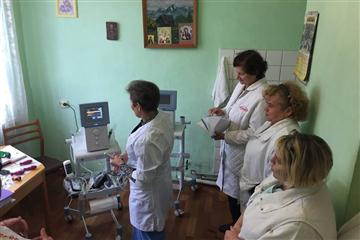 Фізіотерапевтичне відділення Мукачівської ЦРЛ отримало нове медичне обладнання
