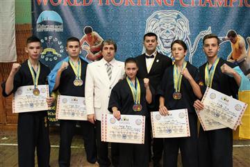 Спортсмени з Мукачева стали чемпіонами
