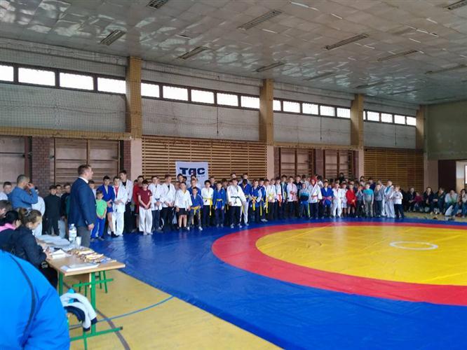 На Воловеччині провели чемпіонат з самбо