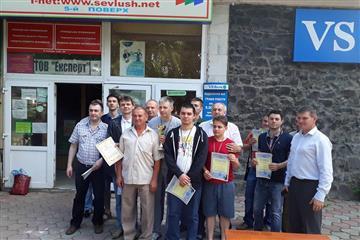 На Закарпатті провели чемпіонат з шахів. Свалявська команда посіла третє місце