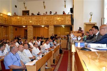 В Ужгороді відбулося третє пленарне засідання 7-ої сесії облради