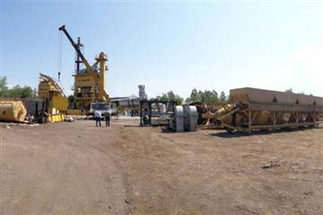 На Тячівщині будівництво асфальтного заводу йде повним ходом (Фото)