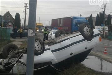 Закарпатець постраждав у ДТП (ФОТО)