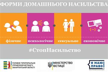 Які види домашнього насильства розрізняє законодавство в Україні?