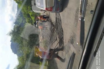 На Рахівщині ремонтують дорогу